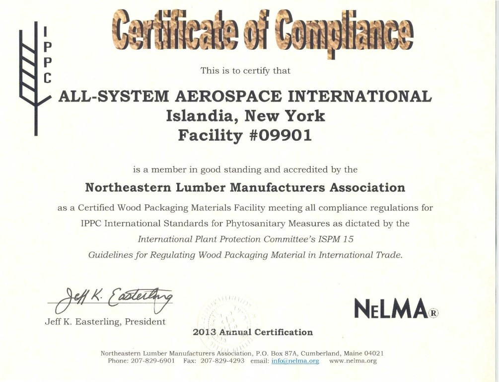 certificate of compliance template word